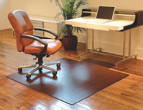 "3/16"" Thick Bamboo Chair Mats"