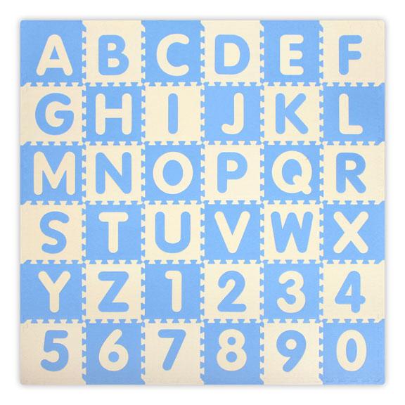 BabySoft Foam Puzzle Tiles