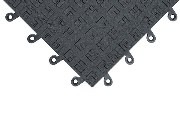 ErgoDeck Solid Anti Fatigue Mat Tiles