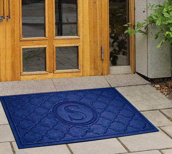 Monogrammed Waterhog Door Mats Are Personalized Ay