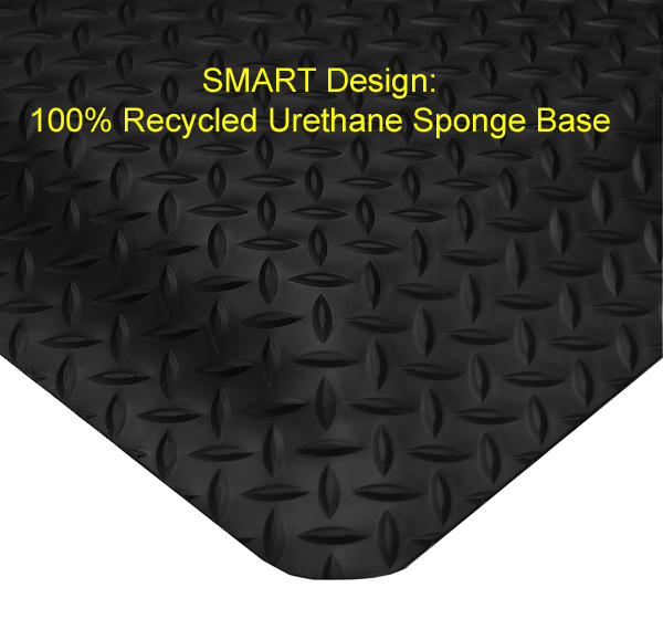 Smart DiamondPlate Anti Fatigue Mats