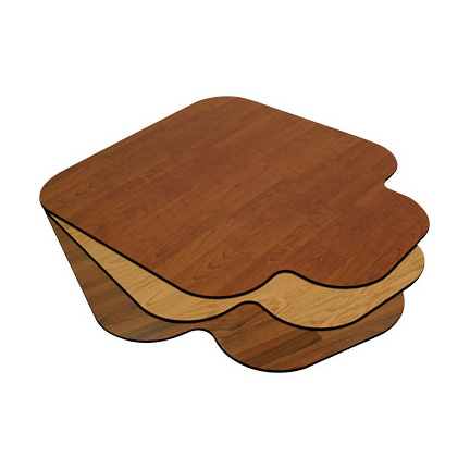 Wood Chair Floor Mats