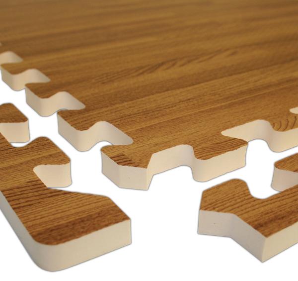 RealSoft Wood Foam Tiles