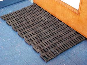 Rubber Tire Link Door Mats Are Rubber Door Mats By Floormats Com