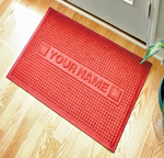 Personalized Waterhog Floor Mats
